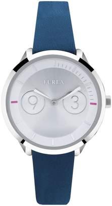 Furla Watches Women's Metropolis White Silver-Tone Dial Watch, 31mm
