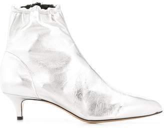 Fabio Rusconi metallic ankle boots