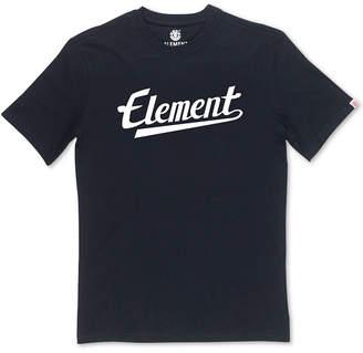 Element Men Script Logo Graphic T-Shirt
