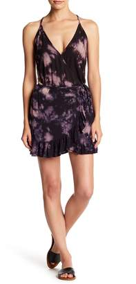 YFB Clothing Wrap Ruffle Flutter Skirt