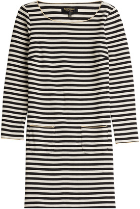 Juicy Couture Striped Jersey Dress $239 thestylecure.com