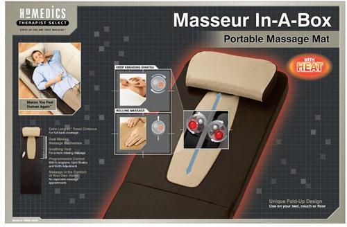 HoMedics Therapist Select Masseur-In-A-Box