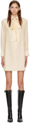 Chloé White Silk Dress