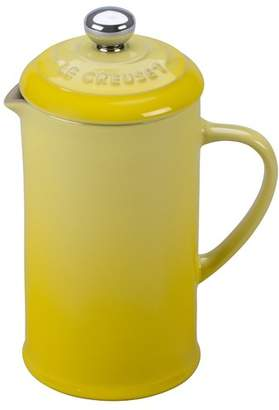 Le Creuset 1.5-Cup Stoneware Petite French Press Coffee Maker