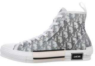 Christian Dior 2019 B23 Oblique High-Top Sneakers w/ Tags