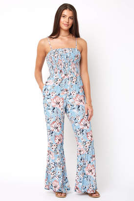 Willow & Clay Claudia Floral Jumpsuit