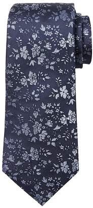 Banana Republic Textured Ground Floral Silk Nanotex® Tie