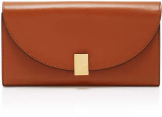 Victoria Beckham Half Moon Leather Wallet