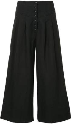 Ulla Johnson wide-leg cropped trousers