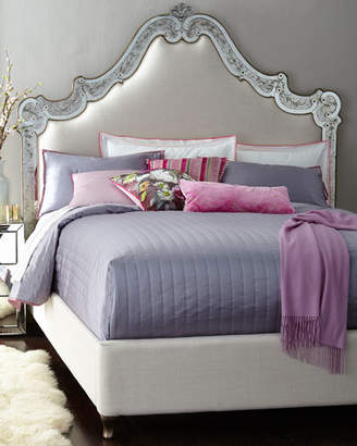 Hooker Furniture Cynthia Rowley for Venetian King Mirrored Bed