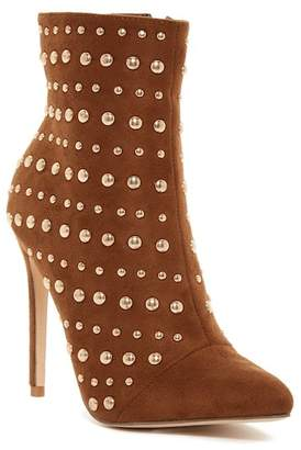 Elegant Footwear Brissa Studded Pointed Toe Boot