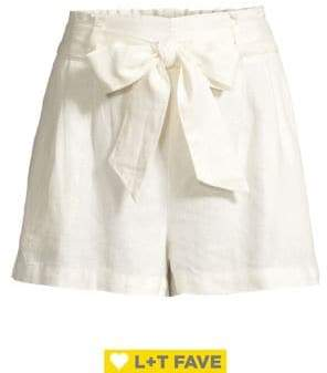 Design Lab Tied-Bow Shorts