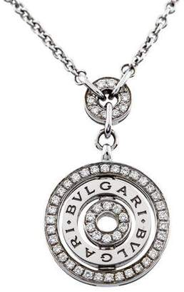 Bvlgari 18K Diamond Cerchi Necklace