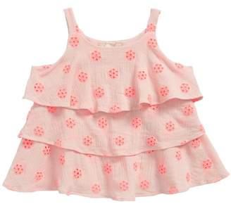 Peri Peek Crochet Top (Toddler Girls, Little Girls & Big Girls)