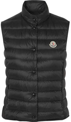 Moncler Quilted Shell Gilet - Black