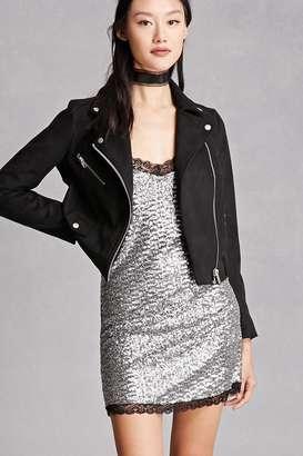 FOREVER 21+ Motel Sequined Slip Dress $78 thestylecure.com