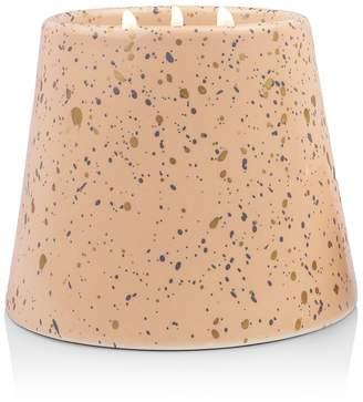 Paddywax Confetti Ceramic Peony & Patchouli-Three Wick Candle