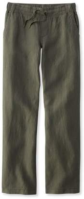 L.L. Bean L.L.Bean Premium Washable Linen Pants