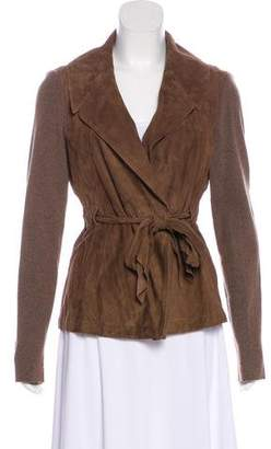 Brunello Cucinelli Suede Casual Jacket w/ Tags
