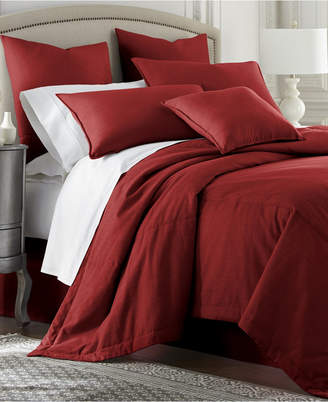 Colcha Linens Cambric Red Coverlet-King Bedding