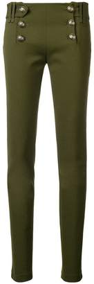 Plein Sud Jeans military skinny trousers