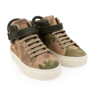 Buscemi BuscemiCamouflage 100MM High Top Trainers