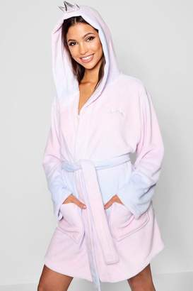 boohoo Nap Queen Crown Dressing Gown