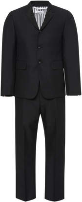 Thom Browne Slim-Fit Faille-Trimmed Wool Mohair And Silk-Blend Tuxedo