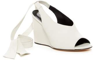 Derek Lam Maude Ankle Tie Wedge Pump