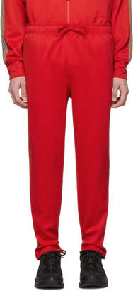 Burberry Red Icon Stripe Sorrento Lounge Pants