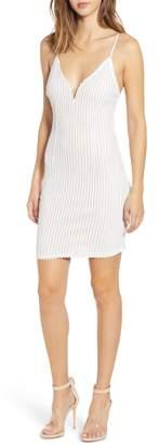 Tiffany & Co. Tiger Mist Sequin Stripe Sheath Dress