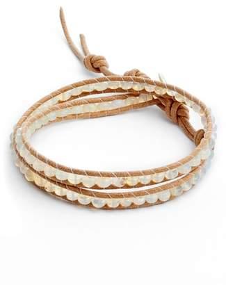 Chan Luu Opal Double Wrap Bracelet