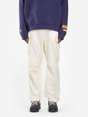 MEN'S OFF-WHITE PARACHUTE CARGO PANTS