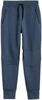 H&M Jersey Sport Joggers - Blue