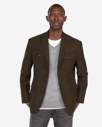 Express Four Pocket Military Blazer