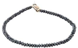 18K Diamond Beaded Bracelet