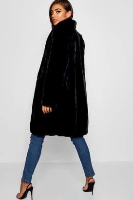 boohoo Faux Fur Coat