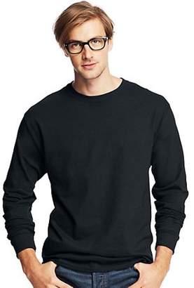 Hanes ComfortSoft Men's Long-Sleeve T-Shirt 4-Pack