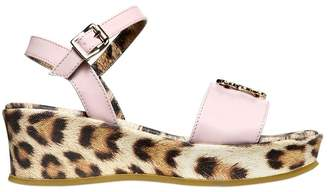 Roberto Cavalli 30mm Patent Wedges