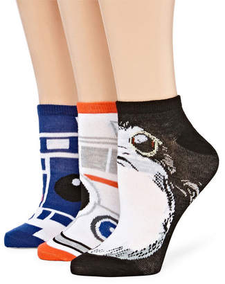 Asstd National Brand Womens 2 Pk Novelty Low Cut Sock