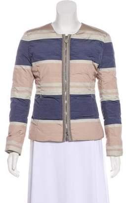 Armani Collezioni Down Zip-Up Jacket