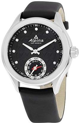 Alpina Women's 'HOROLOGICAL Smart Watch' Quartz Stainless Steel and Rubber Casual