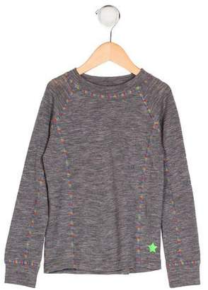 Molo Girls' Wool Knit Top