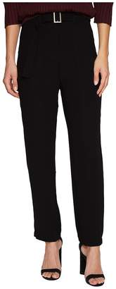 J.o.a. Buckle Front Trousers Women's Casual Pants