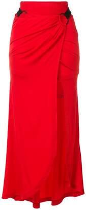 Paco Rabanne side slit skirt