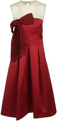 P.A.R.O.S.H. Mesh Panel Dress