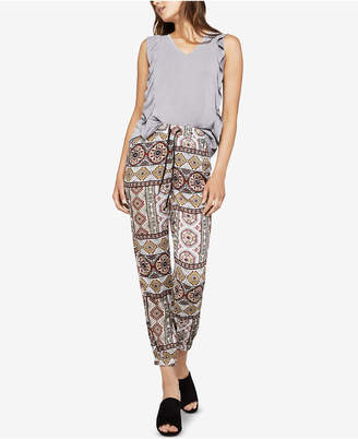 BCBGeneration Tropical Wanderlust Jogger Pants