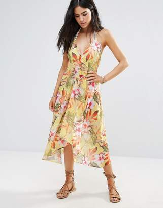 7ab857bf76 Butterfly by Matthew Williamson Floral Beach Dress