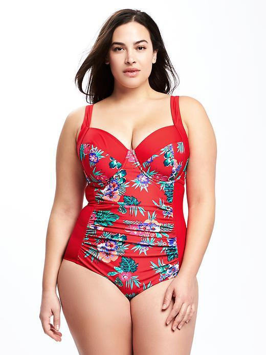 Old NavyControl Max Plus-Size Underwire Swimsuit