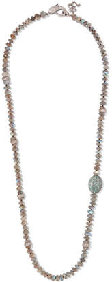 Loree Rodkin Sterling Silver Multi-stone Necklace